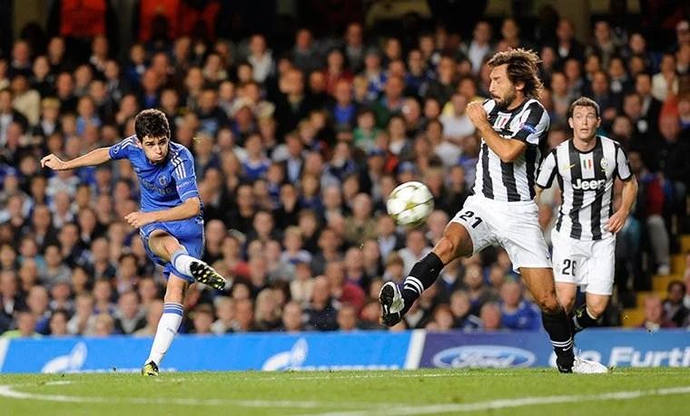 Em sua estreia na UEFA Champions League, Oscar surpreendeu o mundo ao marcar dois lindos gols sobre a Juventus (Foto: Getty Images)