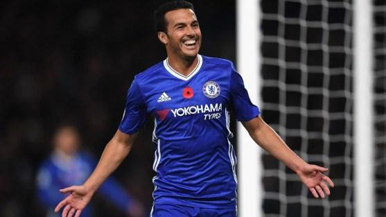 Pedro jogou uma das melhores partidas desde sua chegada a Londres (Foto: Reprodução site Premier League)
