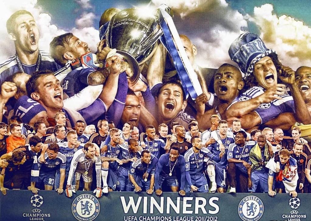 Chelsea - Campeão da Champions 2011-2012