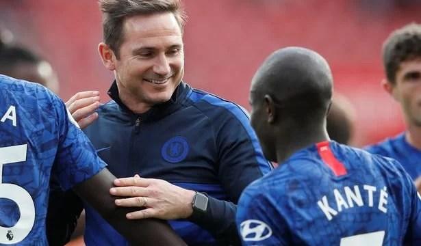 Lampard confia no trabalho de Kanté.