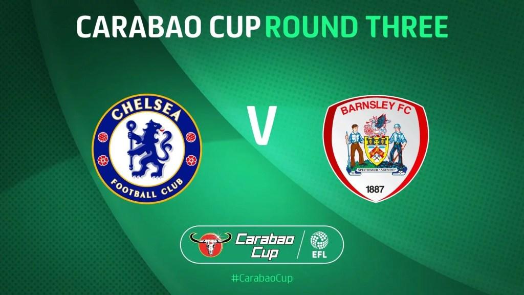 Chelsea e Barnsley se enfrentam em Stamford Bridge, pela terceira rodada da Copa da Liga Inglesa.
