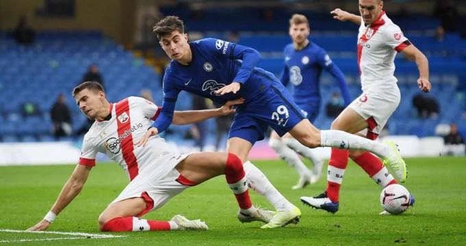 Chelsea fica no empate com Southampton e acumula oito pontos na tabela da Premier League.