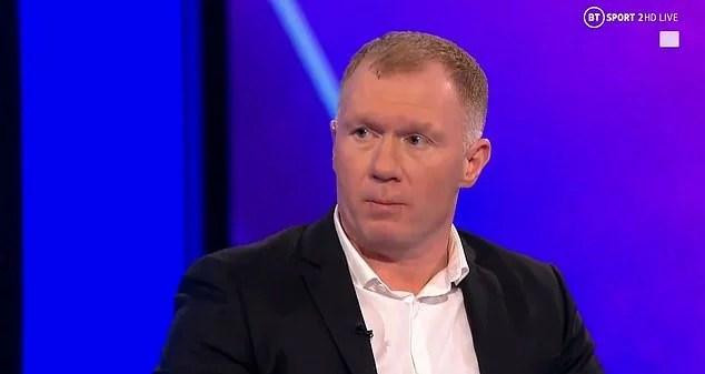 Chelsea não está preparado para vencer a PL, diz Paul Scholes.