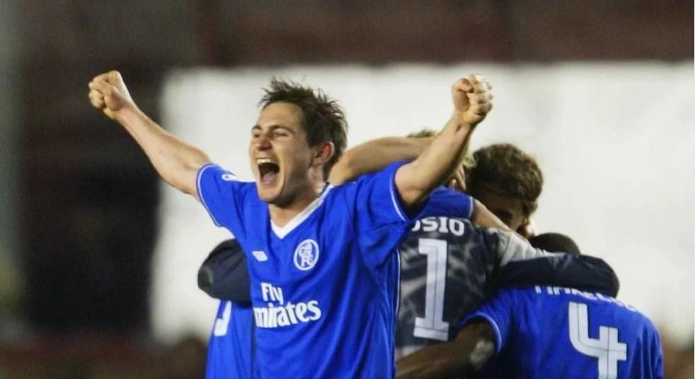 Lampard relembra vitória contra Arsenal, na UCL, em 2004
