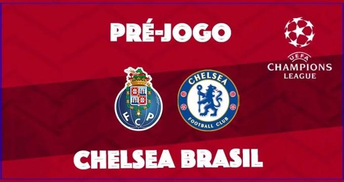 Chelsea vs Porto, pela Champions League
