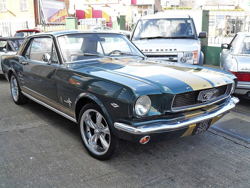 Photo 1966 Ford Mustang Coupe
