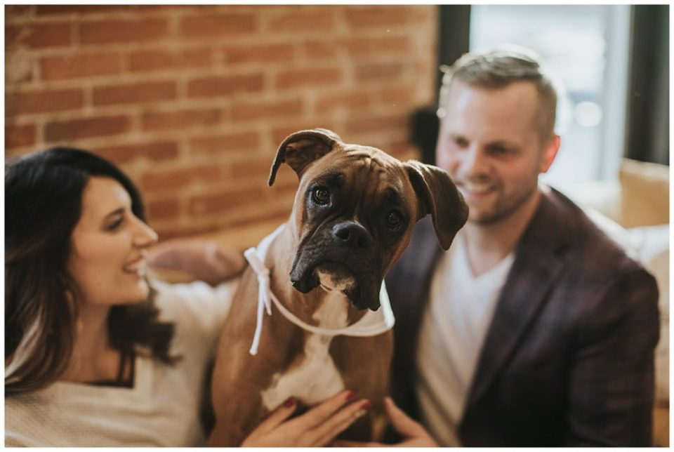 Puppy Engagement photos