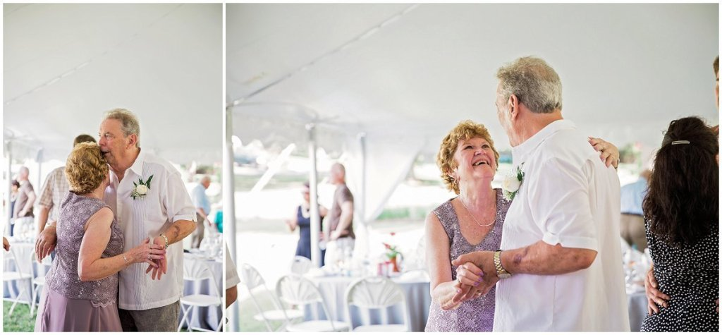 St. Michael's Waterfront Wedding