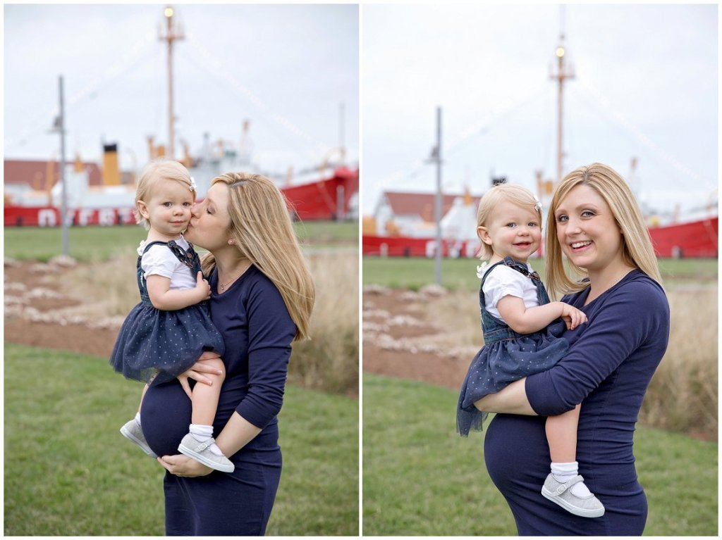 Light ship overfalls maternity photos