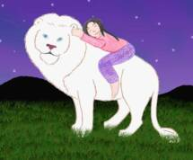 Child_riding_Muscles_the_lion_with_background_color_op_215x178