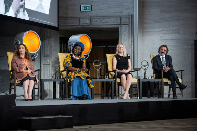 The Honourees for the Oslo Business For Peace Awards
