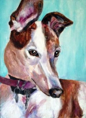 """Pearl 18""""x24"""" Acrylic on canvas"""