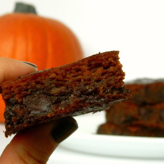 pumpkin brownie 2