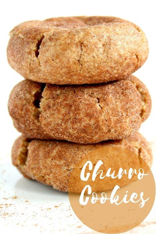 Churro Cookies