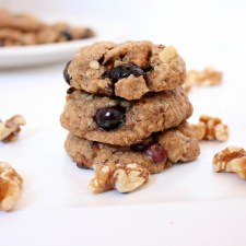 Blueberry Chocolate Chip Walnut Cookies