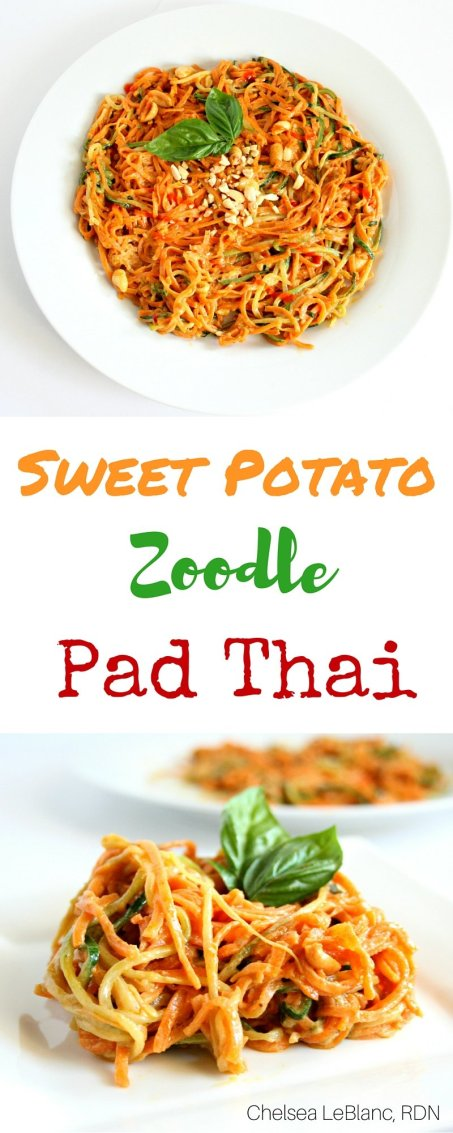 Sweet Potato Zoodle Pad Thai