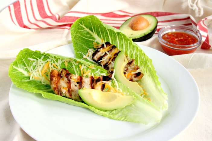Tuesdays were made for tacos! Add a little variety to your taco night and make my simple chicken lettuce wrap tacos. I bet you already have most of these ingredients!