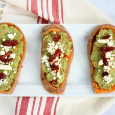 High Protein Sweet Potato Toast
