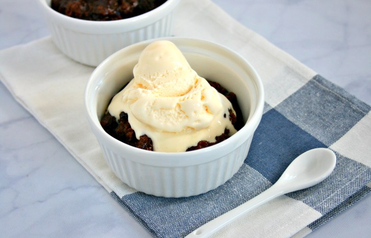 Instant Pot Chocolate Cobbler