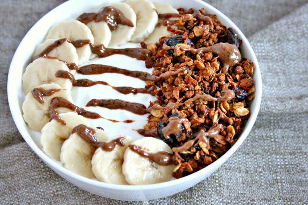 Cold and flu season is here again. Fight back with foods that boost gut health. My carrot cake granola yogurt bowl is a delicious place to start!