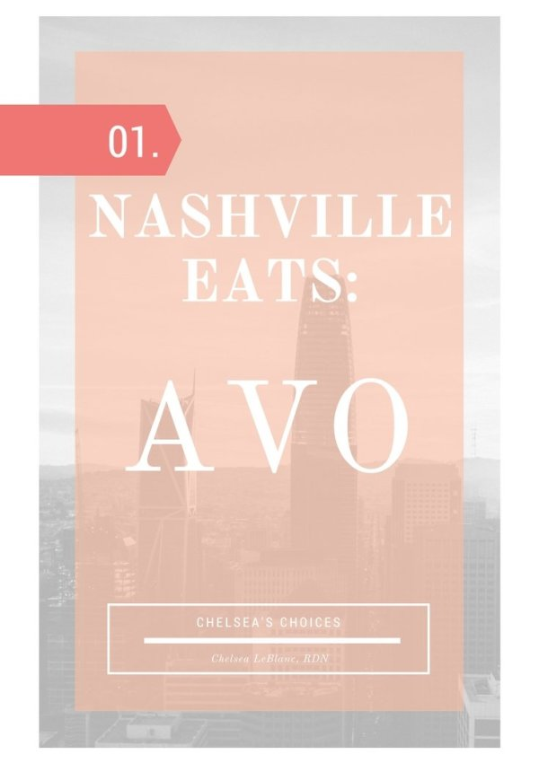 Nashville Eats- Avo explores the healthier side of the Nashville food scene. Check out my video showing off one of Music City's best vegan restaurants!