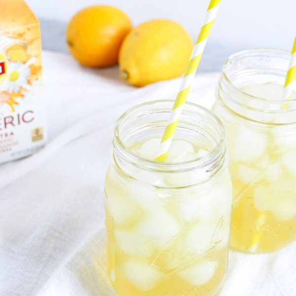 Turmeric Iced Tea Lemonade