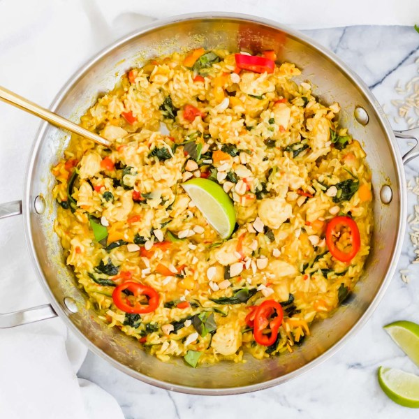 One-Pan Coconut Chicken and Rice Curry