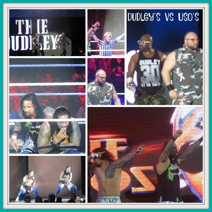 Dudley's vs Uso's