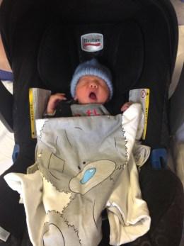 Sebastian car seat