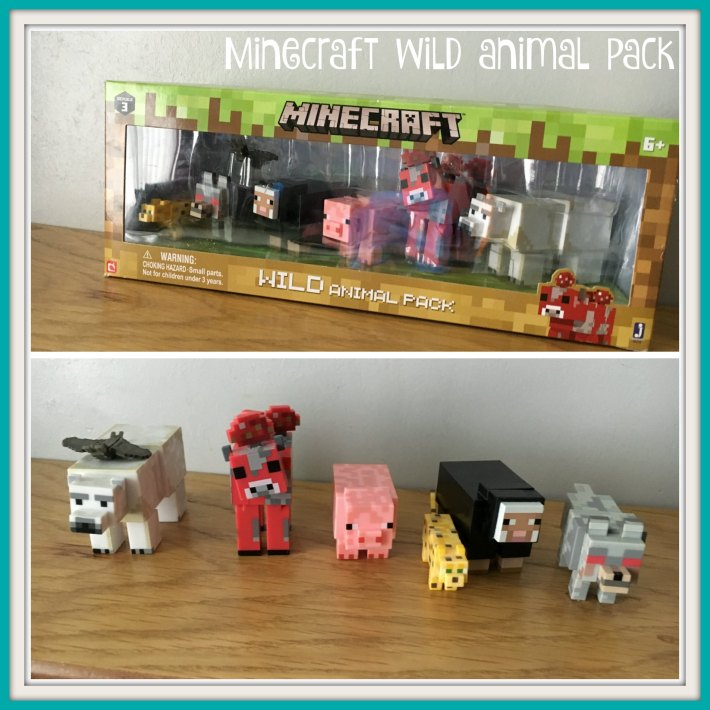 Minecraft wild animal pack