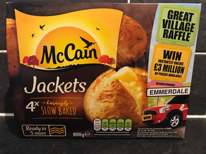 McCain Jacket Potato