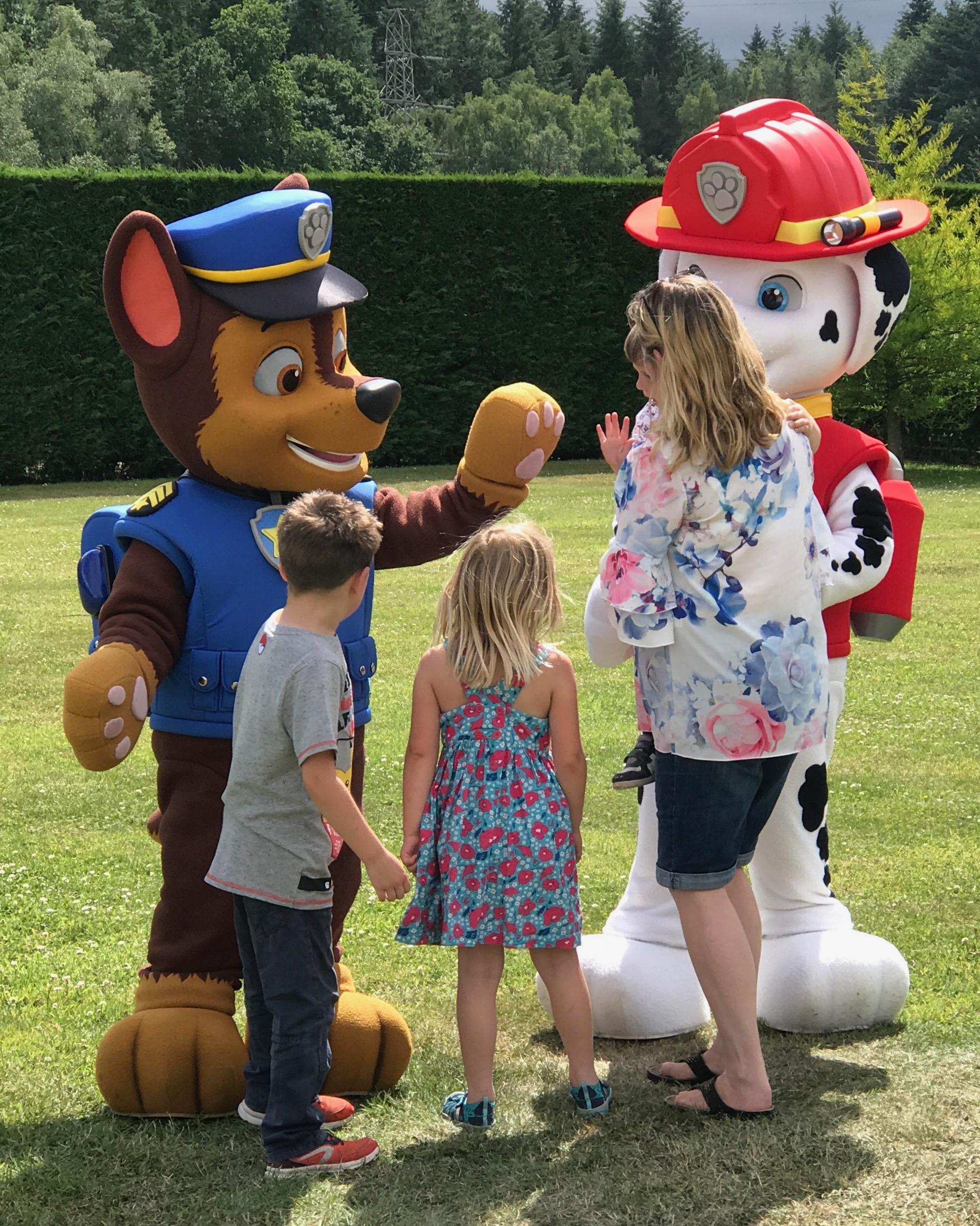 Paw Patrol at Paultons Park