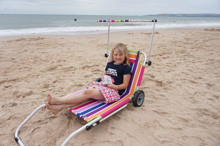 Roll On Summer Sun Lounger Trolley