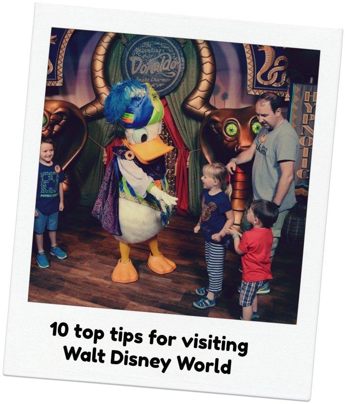 10 top tips for visiting Walt Disney World