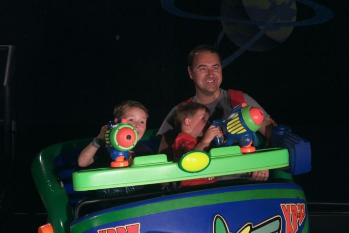 Buzz Lightyear Spin