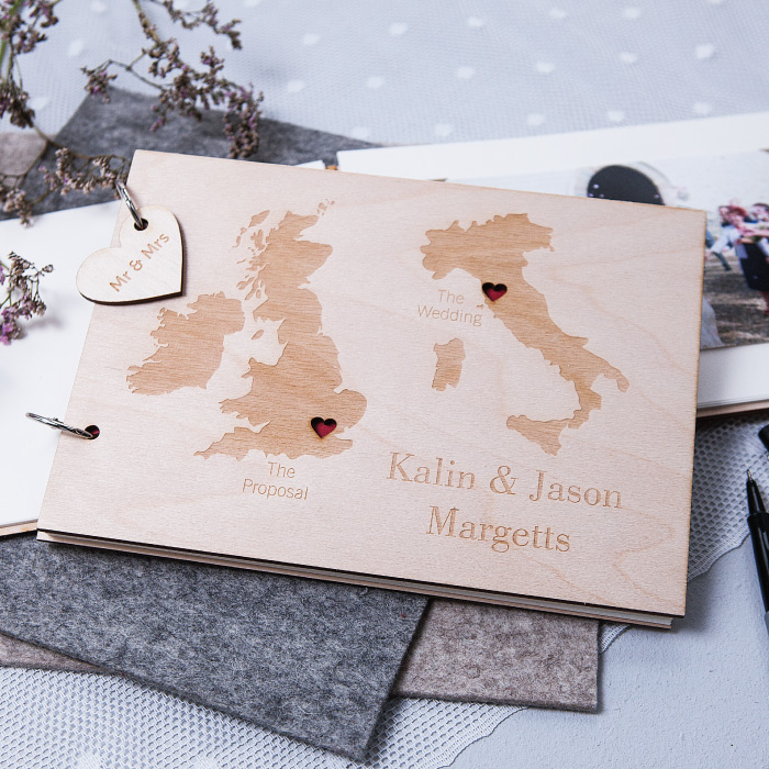 Wedding Photo Books Uk: #Win A Personalised Duo Destination Guest Book From Clouds