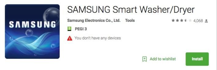 Samsung Smart Wash