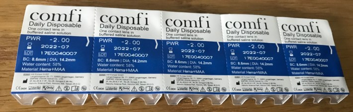 Comfi Contact Lenses