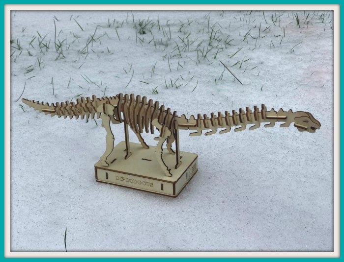 Dippy the Diplodocus Model