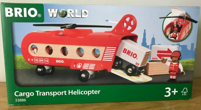 Brio World Cargo Transport Helicopter