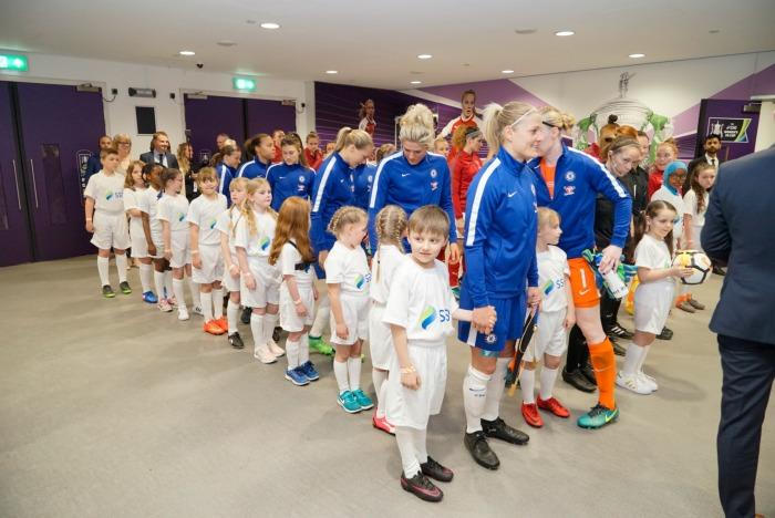 Chelsea Ladies Line Up 3