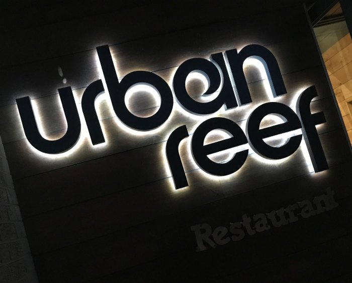 Urban Reef sign