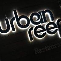 Urban Reef sign