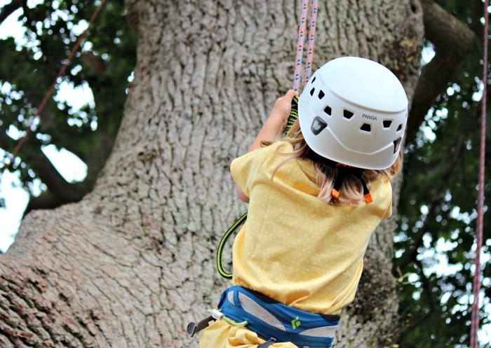 Eliza Tree Climbing