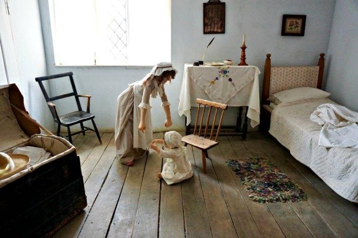Buckler's Hard Bedroom