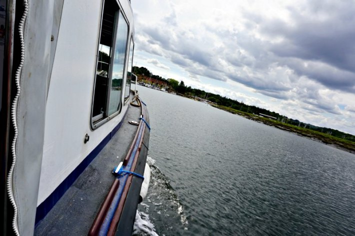 Buckler's Hard Boat