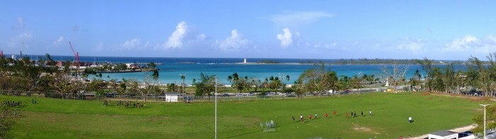 View from Fort Charlotte