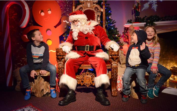 Isaac and Santa