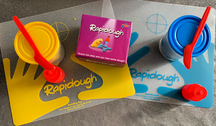 Rapidough in the box