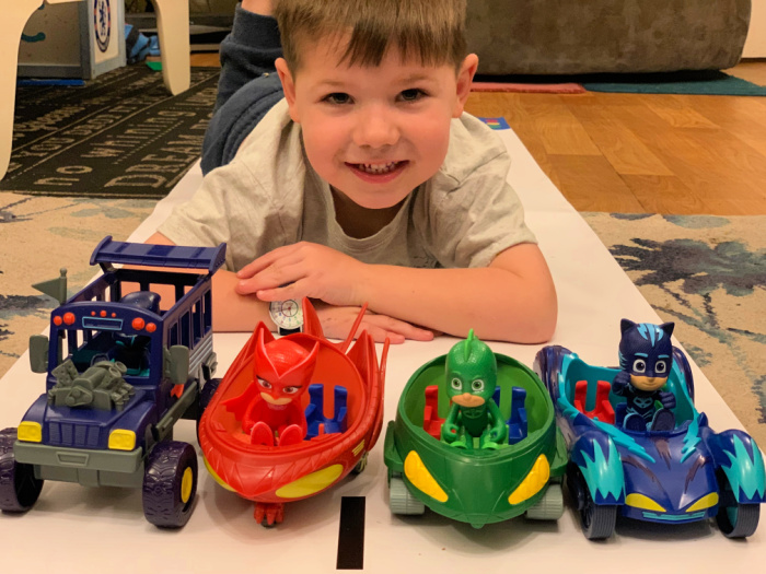 PJ Masks Race Day
